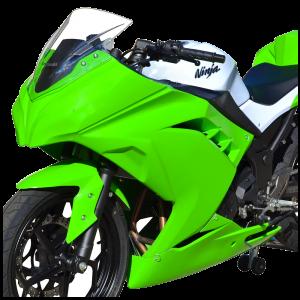 Kawasaki_ninja300_13-15_race_bodywork_green-2