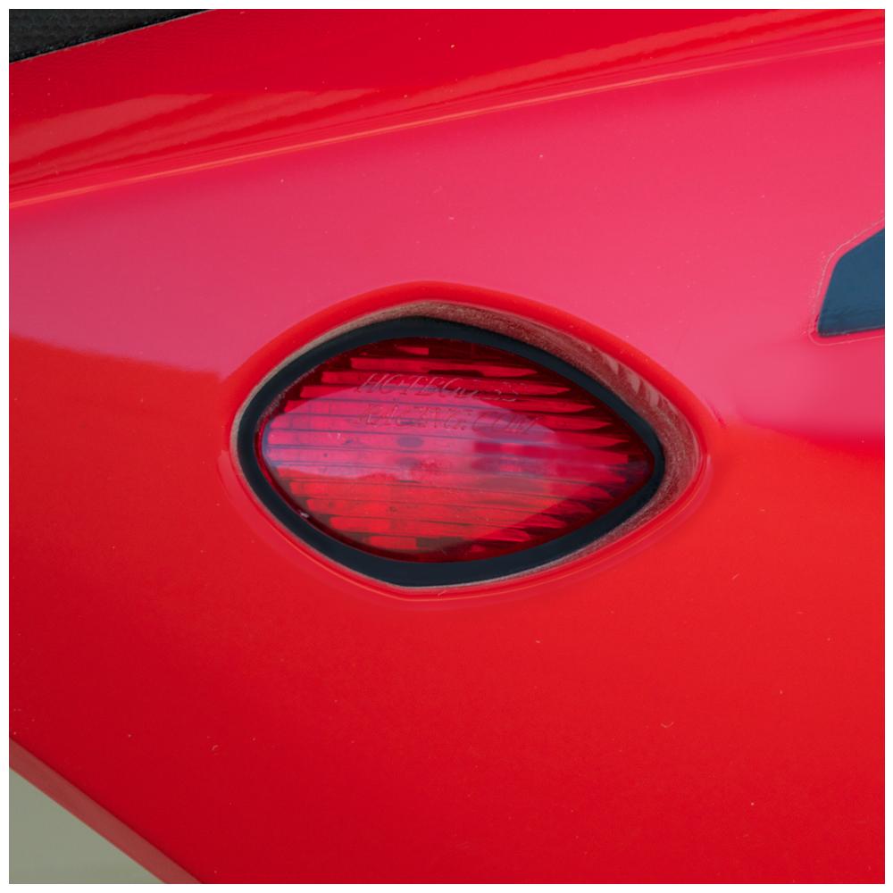 Red Custom LED Mirrors Turn Signals Fit Honda CBR600 F4 F4i 1999-2007 BS1