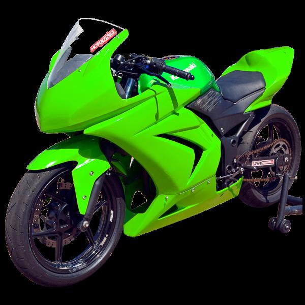Kawasaki_ninja250_08-12_race_bodywork-green-1