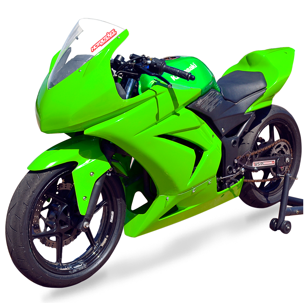 Ninja 250R Race Bodywork 2008-15 | Hot Bodies Racing