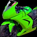 Kawasaki_ninja250_08-12_race_bodywork-green-2