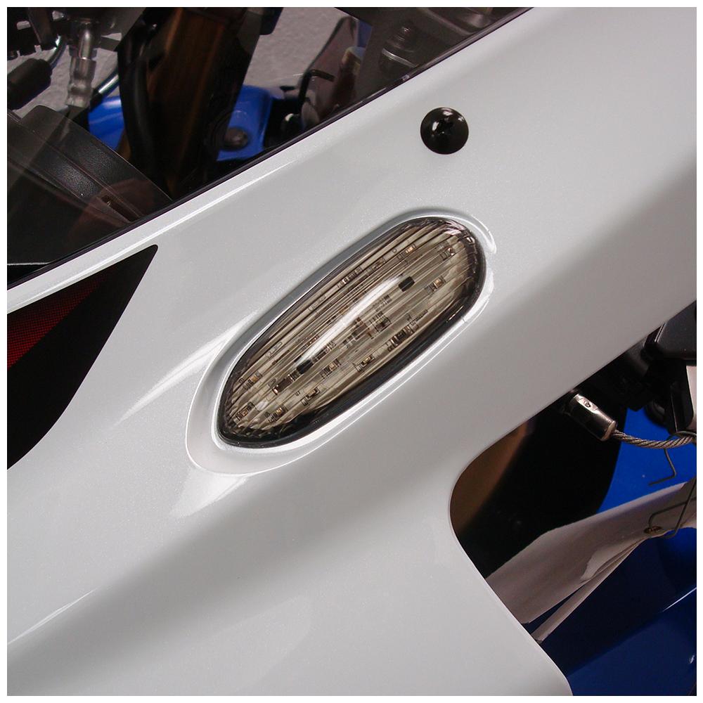 2010 2009 2008 07 06 SUZUKI GSX-R 750 GSXR750 LED Integrated CARBON Mirrors Set