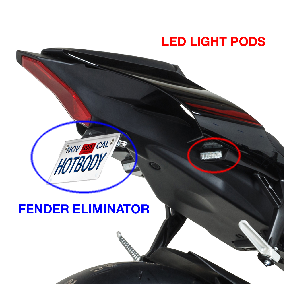 Yamaha R3 Led Turn Signals