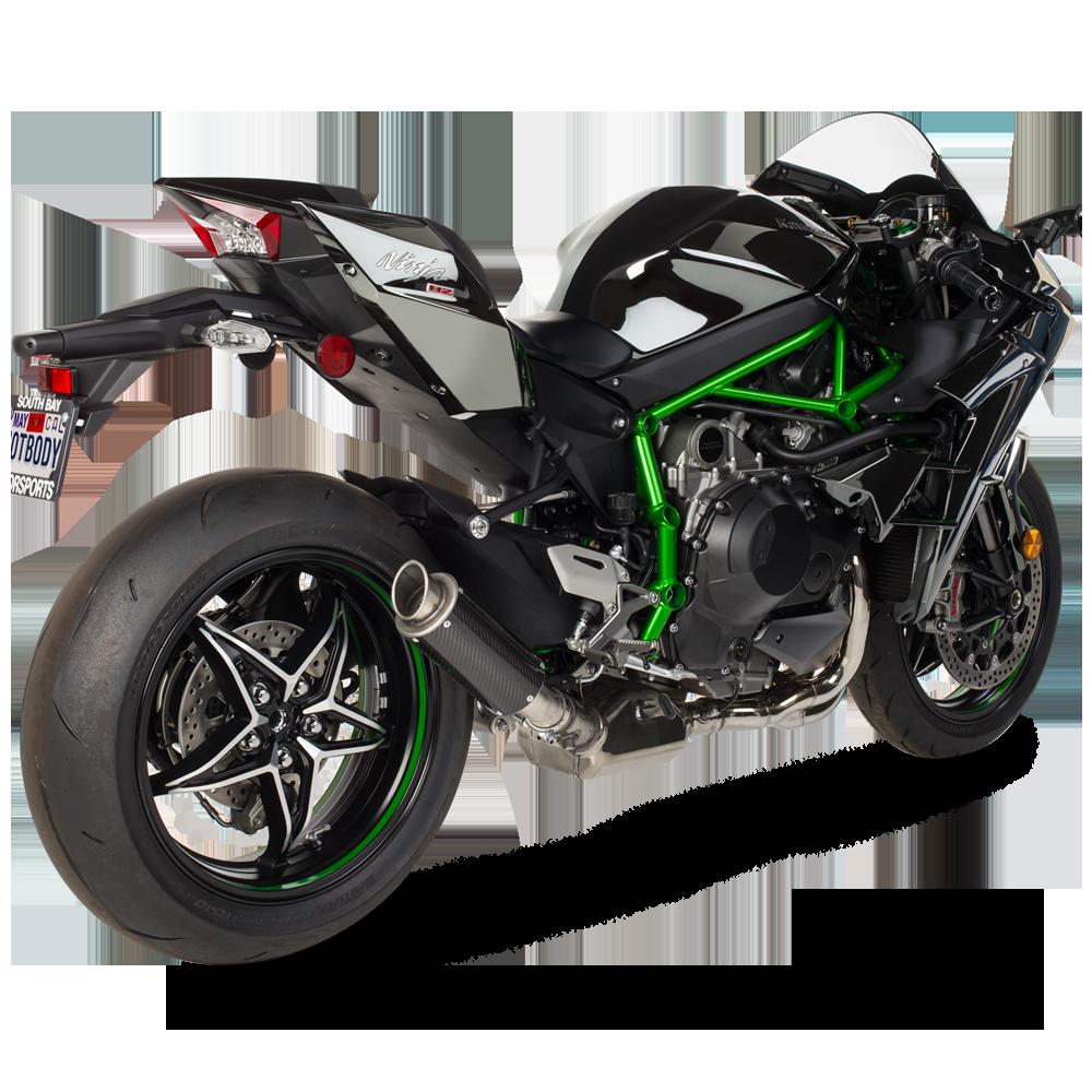 Kawasaki 2015 H2 H2R MGP Exhaust 1