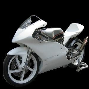 2002-06 RS125 Race Bodywork Set (Gray)
