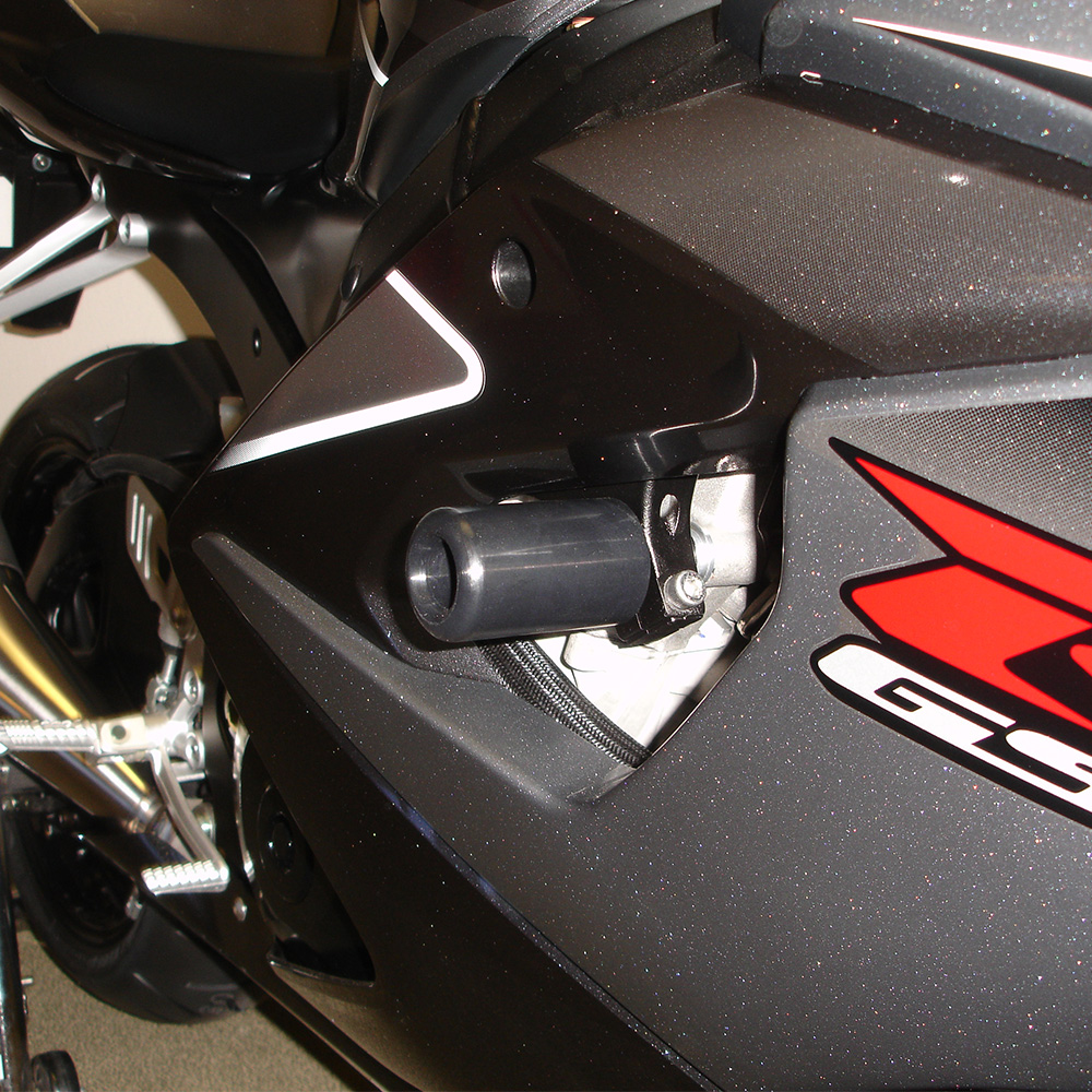 GSX-R 1000 2005-06 NO CUT Frame Sliders - Hotbodiesracing.com