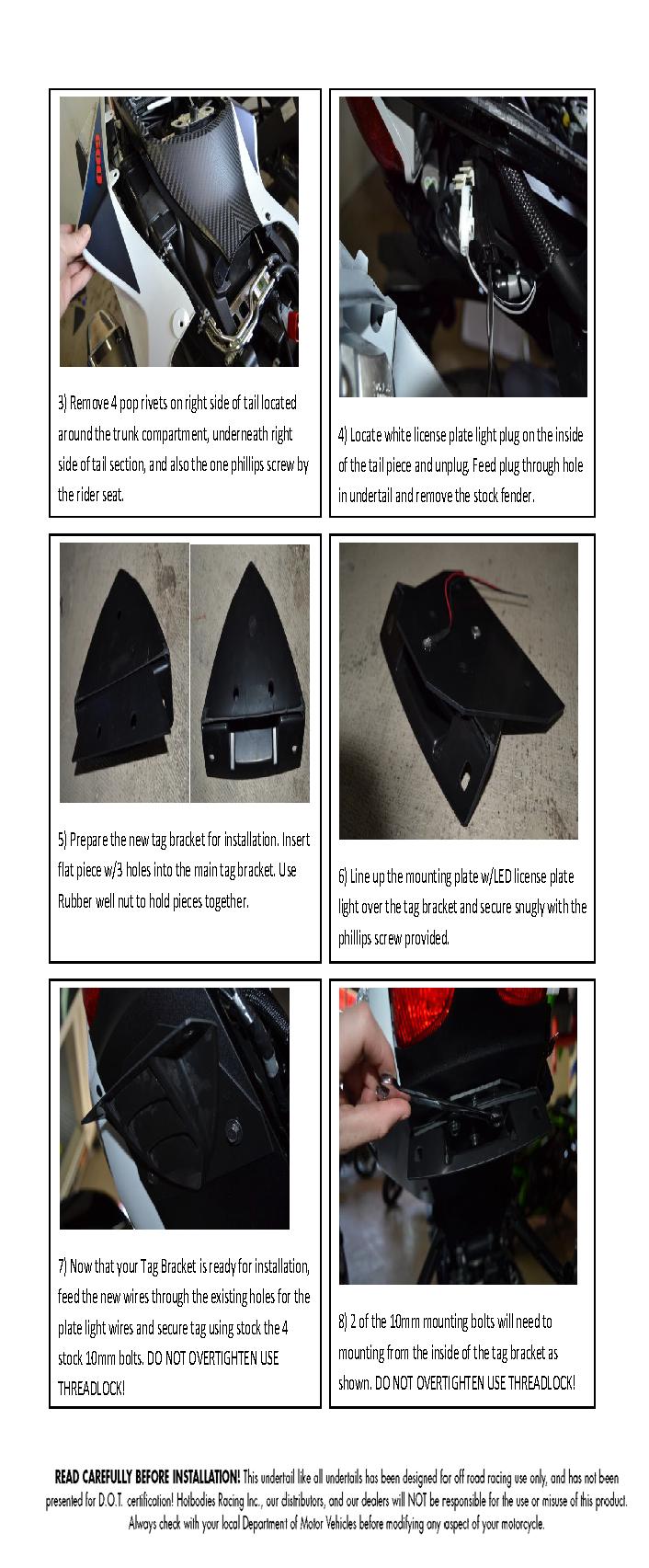 GSX-R 600/750 2011-16 Fender Eliminator
