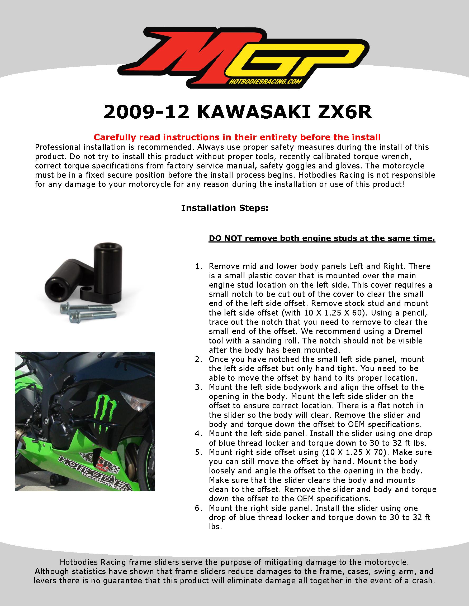 CBR F4i 2004-06 Undertail