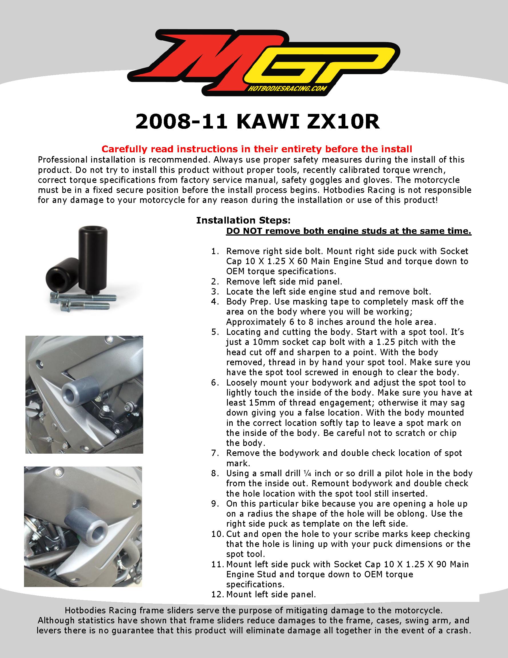 2008-11 KAWI ZX10R