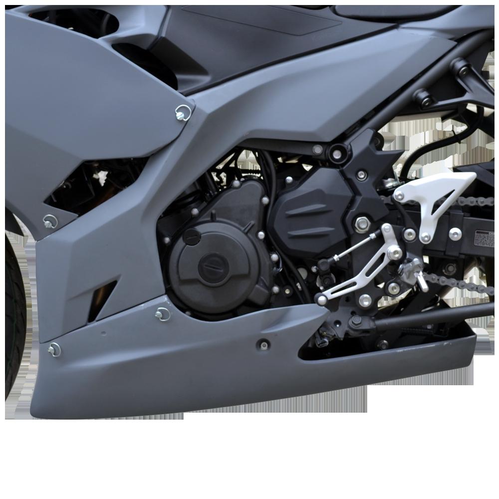 Ninja 400 2018-19 Race Bodywork – Primer Gray